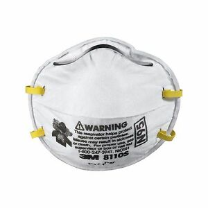 3m 4 cases Half Face Protection Mask Ppe Working Safety Dust Filter Respirator