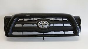 2005 2011 Toyota Tacoma Grille Front Bumper Grill 05 11 Oem Black Bad Paint