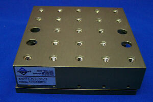 Aerotech Ats03005 Sn Mfd302 51 3 Mechanical bearing Linear Stage 5 X 5 Stage