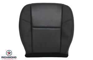 2011 Chevy Avalanche Ltz driver Side Bottom Perforated Leather Seat Cover Black