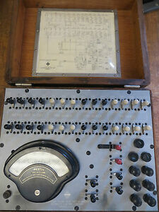 Vintage Automatic Electric Current Flow Test Set H 64645 W weston Model 269