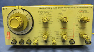 Interstate F 74 F74 20mhz Sweep Function Generator