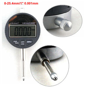 Dial Indicator 0 25 4mm 1 Electronic Digital Micrometer 0 001mm