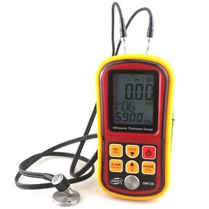 Gm130 Ultrasonic Thickness Gauge 1 0 300mm Metal Width Monitor Tester