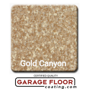 20 Lbs Decorative Color Flake Chips For Epoxy Floor Coating Gold Canyon 1 8