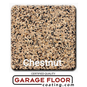 5 Lbs Decorative Color Chip Flakes For Epoxy Floor Coatings 1 4 Chestnut