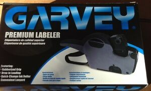 Garvey 22 66 Digit Double Line Price Marking Labeler 6 Numbers On Top bottom
