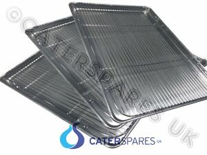 3 X Henny Penny Chicken Display Unit Wire Rack Perforated Metal Tray 18 X 26