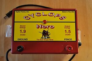 Used Cyclops Hero 1 5 Joule Ac Electric Fence Energizer