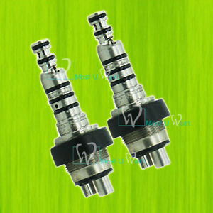 2 Dental Lab A Class Handpiece Quick Coupling 360 Swivel Compatible With Kavo