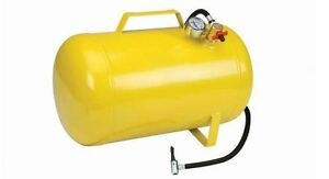 5 Gal Portable Air Tank Compressor Jeep Truck Tire Supply Gauge Hose Handle