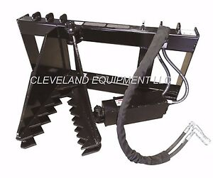 New Hd Tree Post Puller Attachment Skid Steer Loader Ripper Takeuchi Terex Asv