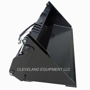 New 72 Hd 6 in 1 Combination Bucket Skid Steer Loader Attachment Holland 4 in 1