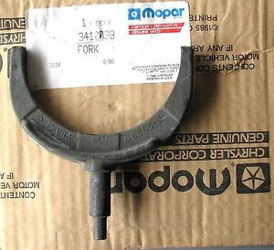 Mopar Dodge A 833 A833 4 Speed Transmission Shift Fork Cuda Charger Roadrunner 3
