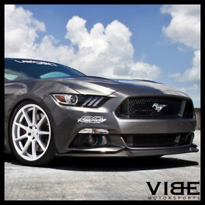 20 Velgen Vmb9 Silver Concave Wheels Rims Fits Ford Mustang Gt Gt500