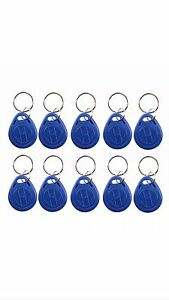 New 100 Rfid Key Fobs Proximity Access Key Tag Id Cards 125 Khz