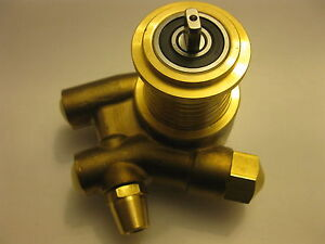 Pump Head 200psi Nuert L 82mm 350l h Connection 3 8 Npt With Bypass Brass