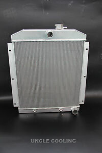New 3 Rows Aluminum Radiator For 1947 1954 Chevy 3100 3600 3800 Truck Pickup