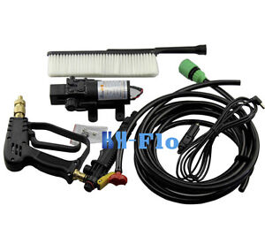Hsh flo Dc 12v Electric High Pressure Car Washer 60w Portable Car Wash Pump