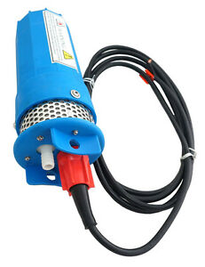 New Farm Ranch Solar Powered Submersible Dc Water Well Pump 12v 230ft Lift