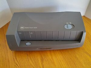 Gbc 3230 Electric Paper Punch 2 Or 3 hole Up To 24 Sheets At A Time 7704271