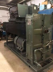 3 5 Extruder Complete Pelletizing Line Nrm Waterbath Pelletizer