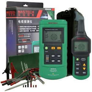 Ms6818 Advanced Cable Tracker Pipe Locator Detector Wire Phone Ethernet Tester