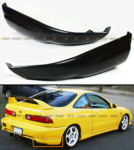 For 1998 01 Acura Integra Dc Jdm Rear Bumper Lip Add on Splitter Valances Aprons