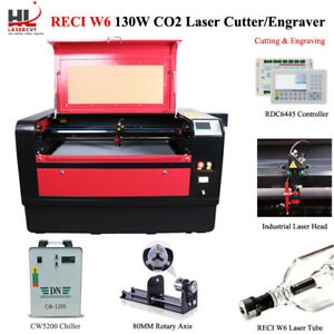 Reci 130w C02 Usb Laser Cutter engraver Machine Working Size 1060 Cw5000 Chiller
