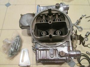 Holley 4 barrell 600 Series carburetor Clean W parts Shown possibly Gently Used
