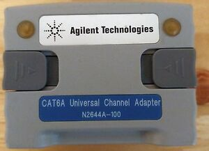 Agilent N2644a 100 Cat6a Universal Channel Adapter For Wirescope And Framescope