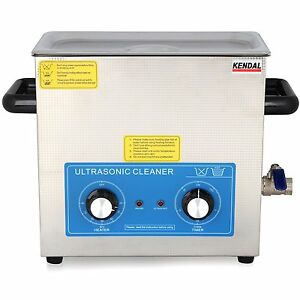 Pro 380 Watt 1 59 Gallon Heated Ultrasonic Cleaner For Dental Parts Hb 36mht