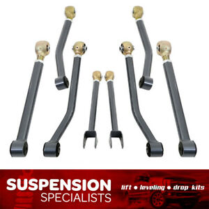 Front Rear Adj Maxtrac Control Arm Kit For 2007 2018 Jeep Wrangler Jk complete