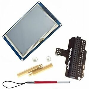 5 Tft 800 480 Sd Touch Module With Shield For Arduino Due