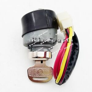 1 Piece New Ignition Key Switch 52200 99510 For Kubota 988 Harvester