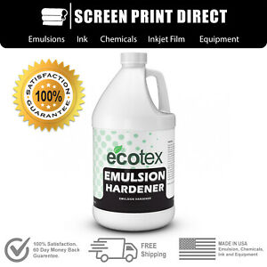 Ecotex Emulsion Hardener Long Run Screen Printing Emulsion Hardener 1 Gallon