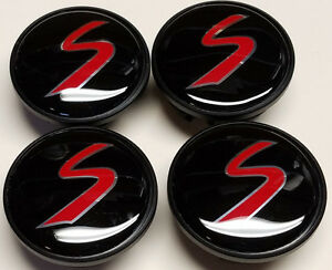 Set Of 4 54mm Mini Cooper S Logo Wheel Center Hub Caps Badge Emblem Wc4pc575