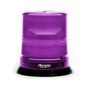 7 Purple 12 Led Magnet permanent Mount Funeral Vehicle Strobe Beacon Light