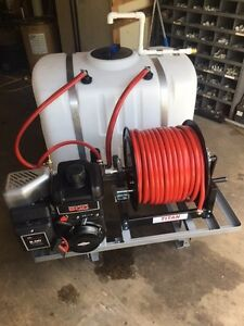 Skid Sprayer 100 Gl 9 0 Brig Eng With Hypro 6500c r Pump