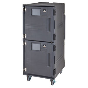 Cambro Pcuhh615 Electric Pro Cart Ultra Hot Food Pan Carrier 110 Volts