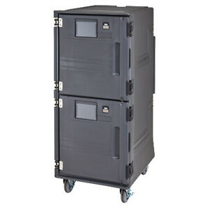 Cambro Pcuph2615 Electric Pro Cart Ultra Ambient Hot Food Pan Carrier 220v