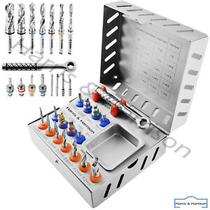 Surgical Drill Kit Drills Drivers Ratchet Dental Implant Tools Implants