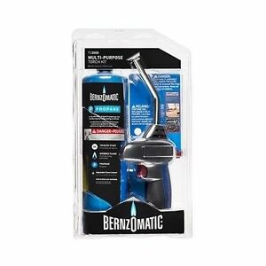 Bernzomatic Self igniting Torch Kit Ts3000kc Self Igniting Propane Kit 2 piece