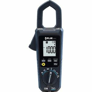Flir Commercial 600 amp Ac dc Auto Ranging Dual Voltage Indication Clamp Meter
