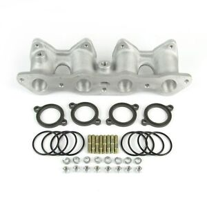 Weber 40 Dcoe Inlet Intake Manifold Kit Ford 1600 Crossflow Engine