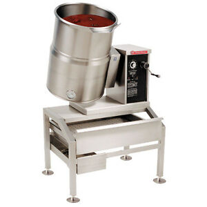 Market Forge Fct 10ce 10 Gallon Capacity Table Top Electric Kettle Tilt Type