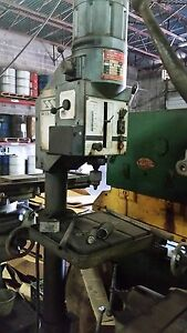 Wilton Drill Press made In West Germany 3phase Auto Feed For Boring