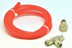 Dual Nozzle Jet Upgrade Kit W Hose Water Methanol Alcohol Injection