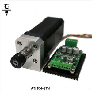 104w High Speed Spindle Motor mount Bracket brushless Drive For Cnc Machine