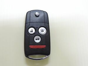 Blade New Flip Switch Remote Key Fob For 2007 2008 2009 2010 2011 2012 Acura Mdx